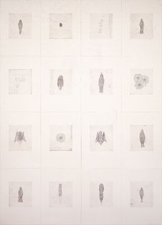 Kiki Smith  Little Things  1998  Etching (portfolio of 16 prints)  Paper size: 19 1/2 x 14 inches, each