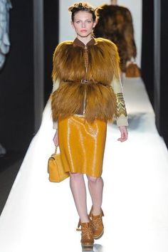 Emma Hill for Mulberry Fall/Winter 2012 - Bold and beautiful!