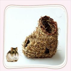 Shoe type hamster house. Funny and interesting for your small animals.