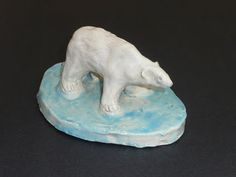 that artist woman: How to Make a Clay Polar Bear