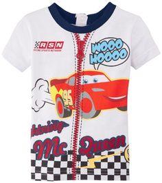 Disney Cars - Camiseta de Cars para niño, talla 6 meses (6 meses), color azul #camiseta #friki #moda #regalo