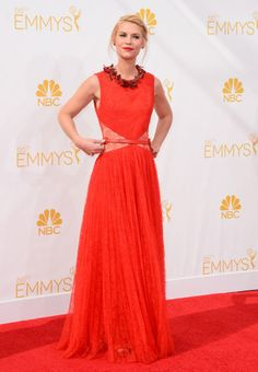The 2014 Emmy Awards: The 10 Best Dressed Celebrities – Vogue - Claire Danes in Givenchy