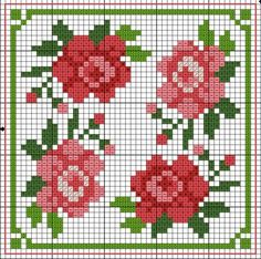 #Biscornu Inspiration #Cross-stitch and can be used for bead loom