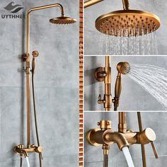 Smarter Shopping, Better Living! Aliexpress.com Bath Shower Mixer Taps, Shower Set, Brass Bathroom, Bathroom Fixtures, Antique Brass, Faucet, Sconces, Door Handles, Home Improvement