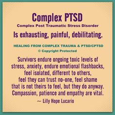 Mental Health Facts, Mental And Emotional Health, Emotional Abuse, Emotional Healing, Stress Disorders, Mental Disorders, Bipolar Disorder, Trauma Quotes, Bipolar Quotes