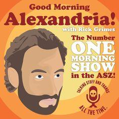 Good Morning Alexadria! Created by David Fallin. #TheWalkingDead #GraphicDesign #RickGrimes
