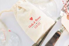 Gift bag guest favour