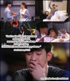 When Do Min Joon cried. This episode just broke my heart. Man From the Stars K Drama, Drama Fever, My Love From Another Star, Korean Drama Quotes, Kdrama Memes, Star Quotes, Love K, Korean Actors, Korean Dramas