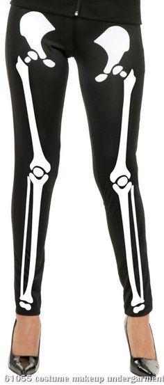Women's Clothing Reliable Unbranded Skull Leggings Euc Small