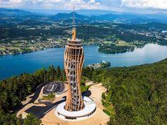#Carizia, una torre panoramica in legno è la nuova attrazione #stranezzedalmondo #TorrePanoramica