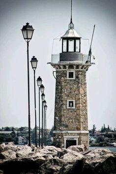 Lighthouse & Waves #lighthouse