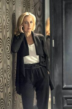 Gillian Anderson in 'The Fall'
