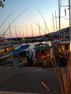 View from restaurant, Kalkan, Turkey.