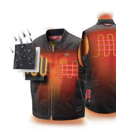 Heated jackets are for those cold winter days when walking outside. The jacket it self will have a small button inside that will activate the heating pads. This is a topic that not only I am interested but other people as well. Especially when waiting at the bus stop on those winter days.