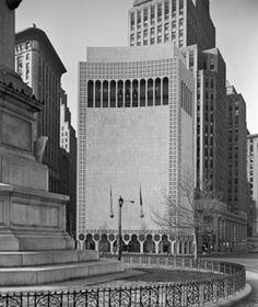2 Columbus Circle - NY, NY - Edward Durell Stone, 1964
