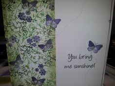 . Cardio Cards, Card Io, Butterfly Cards, My Stamp, Thank You Cards, Cardmaking, Birthday Cards, Christmas Cards, Projects To Try
