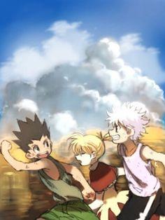 Gon, Bisky, and Killua ~Hunter X Hunter