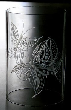 Simplicity *Butterflies* Catherine Miller Designs * Hand Engraved