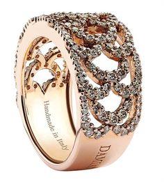 diamonds & rose gold