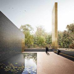 Duggan Morris - Basel Cementerio por Forbes Massie, a través de Behance