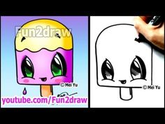 Fun Cartoons - How to Draw Summer Toons - Popsicle - YouTube