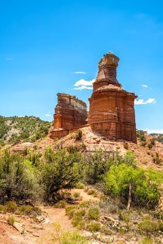 Texas Travel, Rv Travel, Travel Guide, Road Trip Packing, Road Trip Essentials, Palo Duro State Park, Lighthouse Trails, Desert Environment, Best Weekend Getaways
