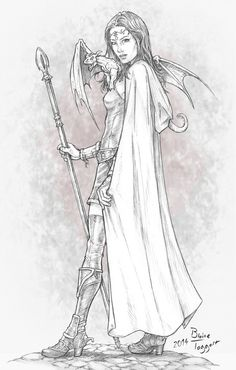 Niana The Mage by staino on DeviantArt