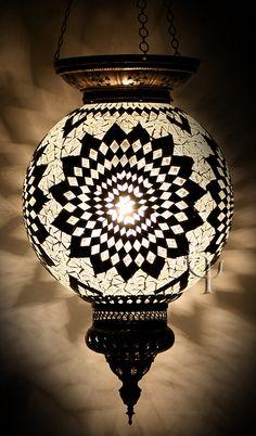 Picture of Mosaic Hanging Lamp Turkish Lights, Turkish Lamps, Chandeliers, Lampe Applique, Home Lighting, Pendant Lamp, Decoration, Bunt, Jars