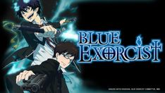 """Rin, along with his twin brother Yukio Okumura are raised by an eminent priest, Shiro Fujimoto, but one day Rin discovers that their biological father is actually Satan! As the border between """"Assiah"""" (the human world) and """"Gehenna"""" (demon's world) is intruded upon by evils, Rin vows to become the ultimate exorcist to defeat his own father, Satan. To hone his raw skills, Rin enters True Cross Academy to train with other exorcist candidates."""