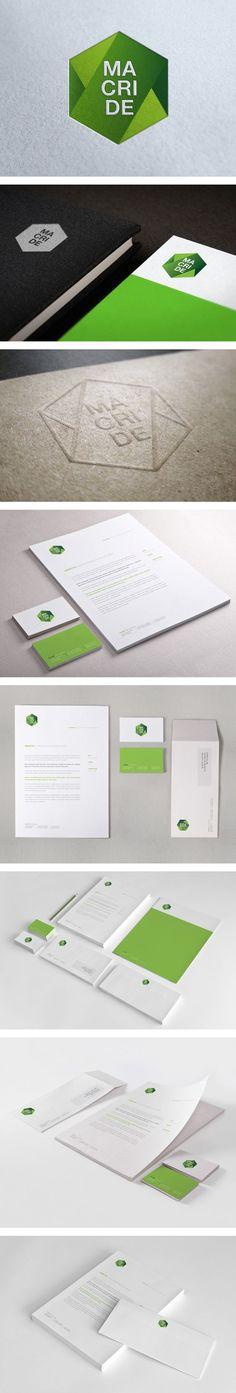Corporate Id. by Maurizio Pagnozzi www.themediagenius.com #SouthAfrica #branding: