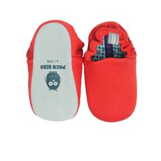 Plain Dark Red Mini Shoes