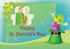 Purple Wishes Happy St Patrick Day ! Purple Turtle, School Videos, Happy St Patricks Day, Early Learning, Pre School, Homeschool, Nursery, Books, Kids
