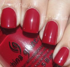 'Adventure Red-y' - is a red creme from the  On Safari fall 2012 collection.
