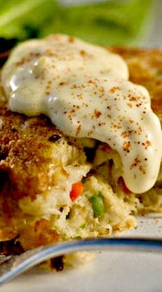 Copycat recipe - Ruth's Chris Crab Cakes - scroll halfway down or use this link to go directly to the recipe: http://cakefoodpizza.blogspot.com/2011/12/ruth-chris-recipe-crab-cakes-divine.html