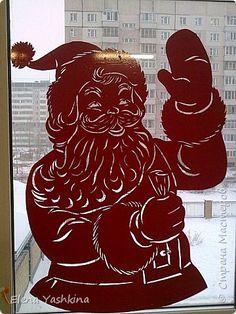 Украшение Новый год Вырезание Вырезалки для украшения группы в детском саду Бумага фото 7