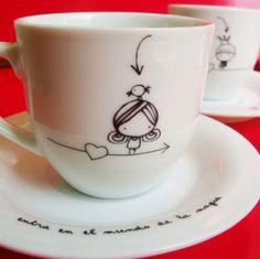 cute idea! vía www.decoyarte.com