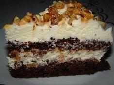 Prajitura cu nuca si caramel – Flori's Kitchen Hungarian Desserts, Romanian Desserts, Romanian Food, My Recipes, Sweet Recipes, Cake Recipes, Cooking Recipes, Cake Cookies, Cupcake Cakes