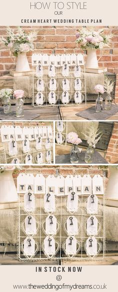 How to Style Our Cream Heart Wedding Table Plan {Shop This Look} @Matty Chuah Wedding of my Dreams #theweddingofmydreams