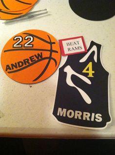 #lockerdecorations#sports#basketball