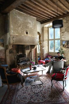 cool chic style fashion: LIFESTYLE | una casa decisamente interessante....