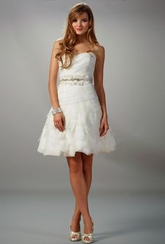 Liancarlo 5808 #wedding_dresses #a_line #bride #short_wedding_dresses #simple #lovely