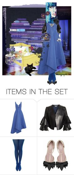 """moody blue"" by daizyjayne ❤ liked on Polyvore featuring art, contestentry, autismawareness and autismball"