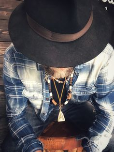 Life is beautiful, indigo shirt , borsalino hat , bear