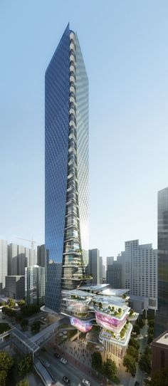 Gallery of Aedas Reveal Dynamic New Design For The Shenzhen Luoho Friendship…