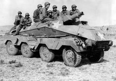US Soldiers in Captured German SdKfz 233 Stummel, pin by Paolo Marzioli