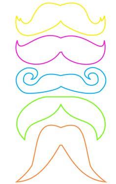 plantilla bigotes                                                       …