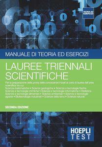 download HOEPLI TEST. MANUALE DI TEORIA ED ESERCIZI. LAUREE TRIENNALI SCIENTIFICHE pdf epub mobi