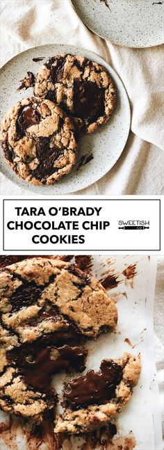 TARA O'BRADY CHOCOLATE CHIP COOKIES- Hearty chunks of chocolate. No electric mixer needed. These are HEAVEN! The best chocolatey cookies that seem perfect for a cabin night. You won't be disappointed.