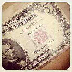 Reader Tip: Don't spend your 5 dollar bills..