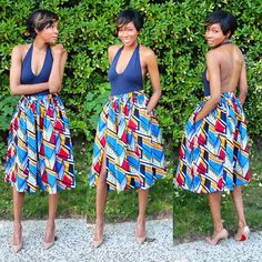 #Summertimefine Shop for this midi skirt at www.dpipertwins.com|model @aimeebap|#newarrivals #shop #summerready #madeinnyc